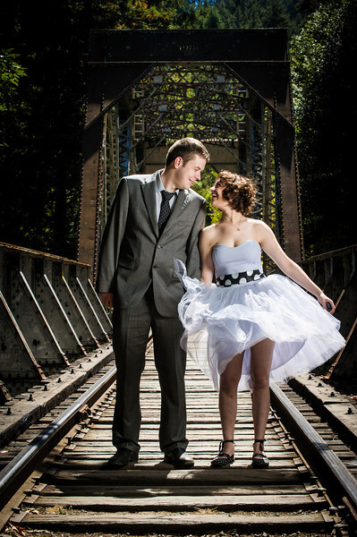 Katrina and Barry - Elopement Photography, Henry Cowell Redwoods, Felton, California