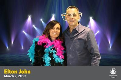 Prudential Center Elton John Pre Show