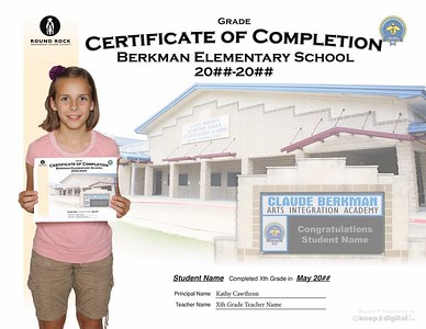 RRISD Keep it Digital Certificates  - 5th and 8th Grade