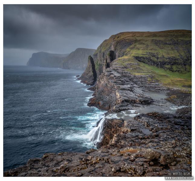 Iceland Coast  Photography by Wayne Heim
