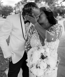 Saronita and Garth Wint Wedding