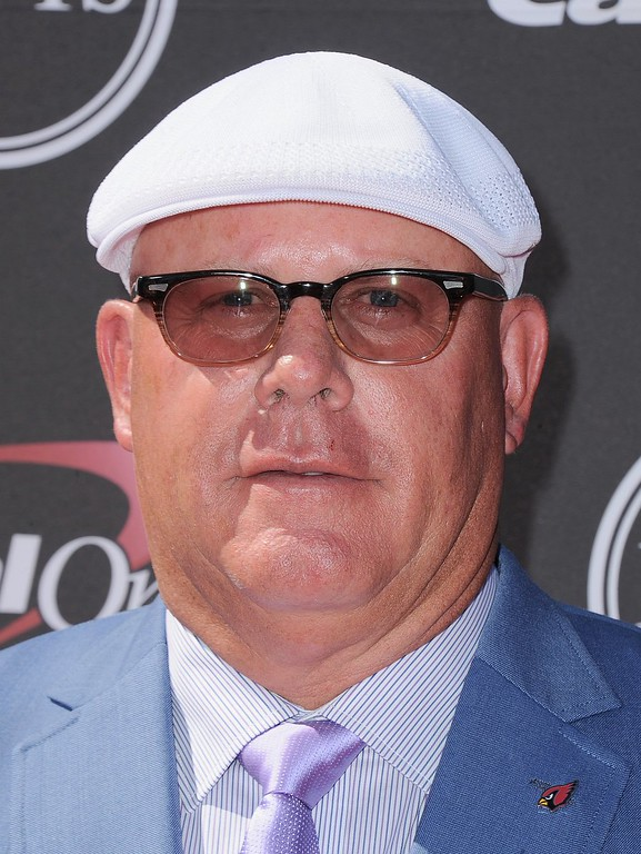 . Arizona Cardinals coach Bruce Arians arrives at the ESPY Awards on Wednesday, July 17, 2013, at the Nokia Theater in Los Angeles. (Photo by Jordan Strauss/Invision/AP)