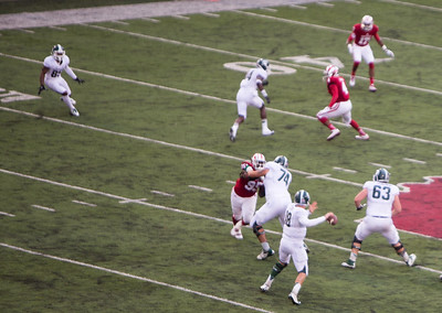 MSU at IU football 2014