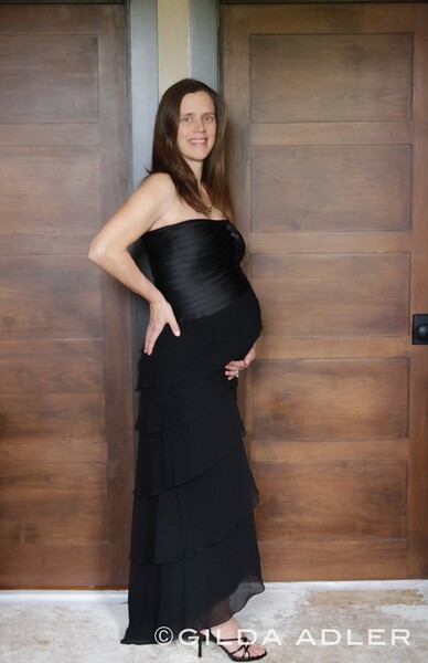 BECKY AND BABY BUMP
