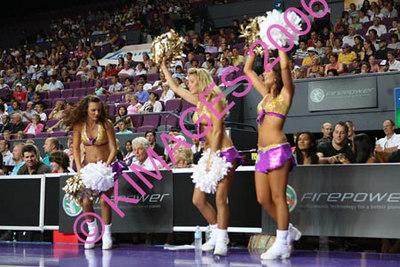 Kings Vs Tigers - Cheerleaders & Half-Time Entertainment 28-1-07
