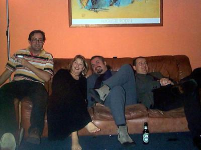 2001 01 Tanya & Tracy party