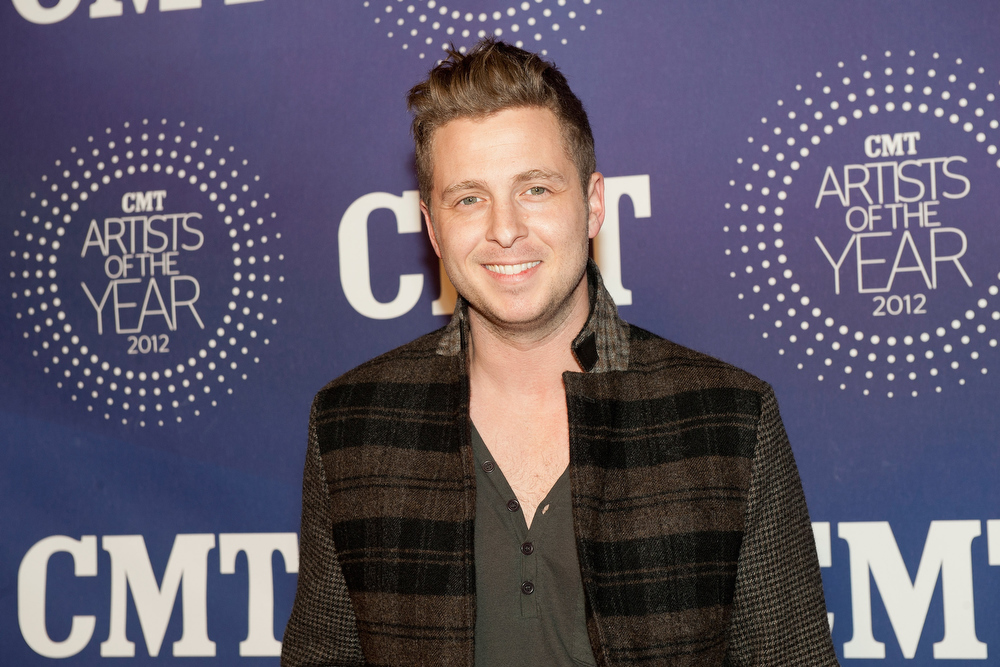 Description of . Ryan Tedder of One Republic attends the 2012 CMT