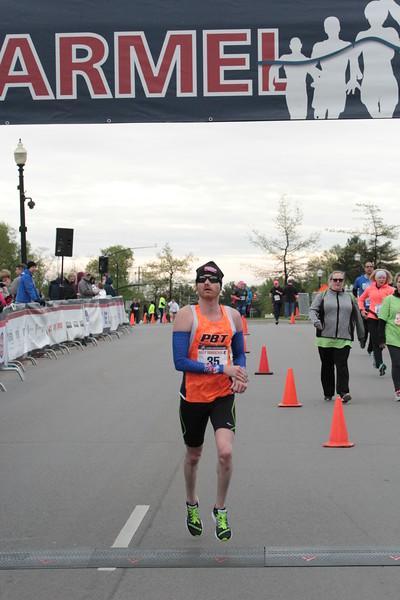 2017 CM Half Marathon Finish