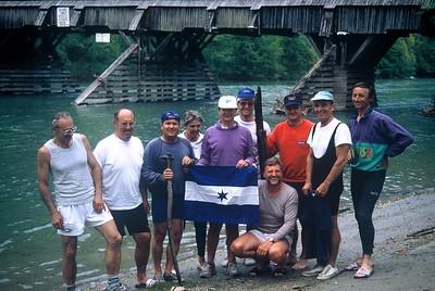 1994-5 Erstbefahrung Enns