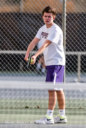 Broughton tennis vs Southeast Raleigh. March 5, 2018
