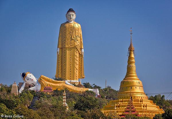 Giant Buddhas at Monywa