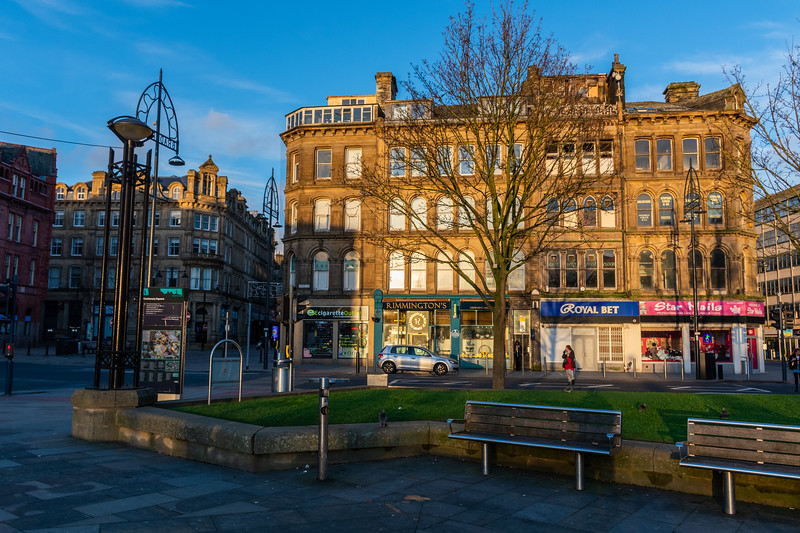 Bradford - A Winter's Sunset
