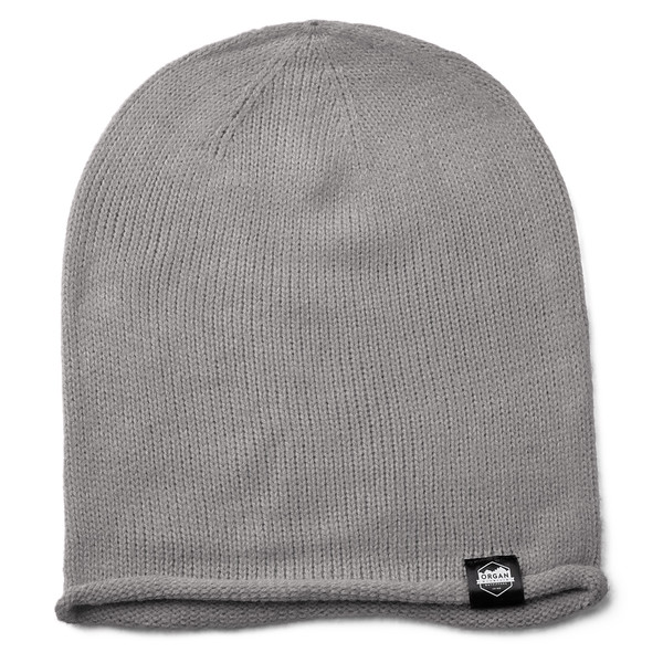 Outdoor Apparel - Organ Mountain Outfitters - Hat - Oversized Knit Beanie - Heather Grey.jpg