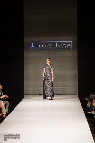 Jaime Elyse Custom Couture LA Fashion Week