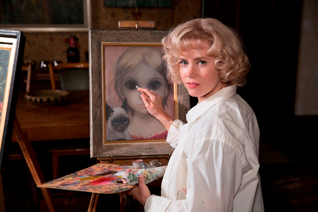 """. In this image released by The Weinstein Company, Amy Adams appears in a scene from \""""Big Eyes.\"""" Adams was nominated for a Golden Globe for best actress in a comedy or musical for her role in �Big Eyes � on Thursday, Dec. 11, 2014. The 72nd annual Golden Globe awards will air on NBC on Sunday, Jan. 11. (AP Photo/The Weinstein Company, Leah Gallo)"""