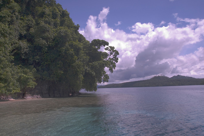 Island in Kimbe Bay - West New Britain, Papua New Guinea