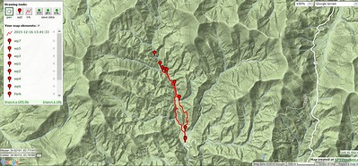 Recon To Headwaters of The Chattahoochee River