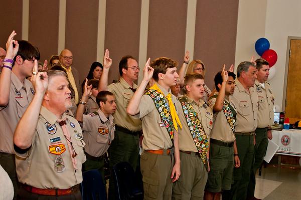 Eagle Scout Promotion 5-5-2016