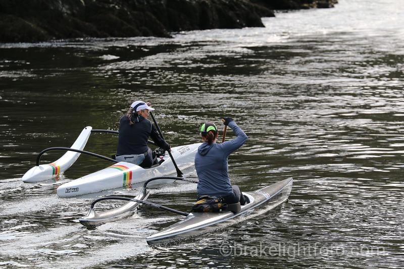 C1 Canoeists