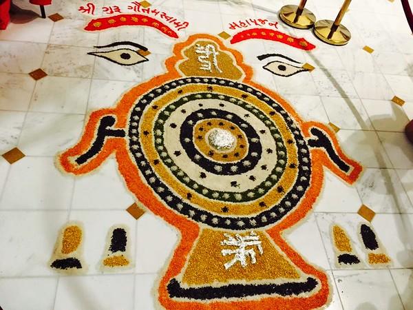 Gautam Swami Poojan 9-3-16
