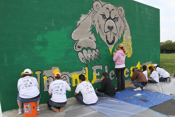 Inland Empire United Way Upland Elementary School Makeover Project