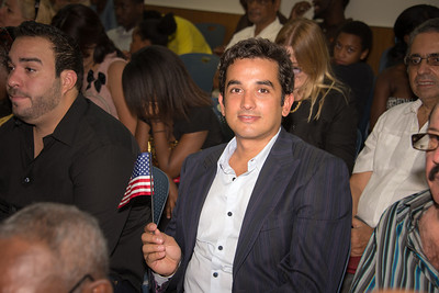 Wilson Becomes a U.S. Citizen
