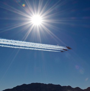 Thunderbirds Practice for Aviation Nation
