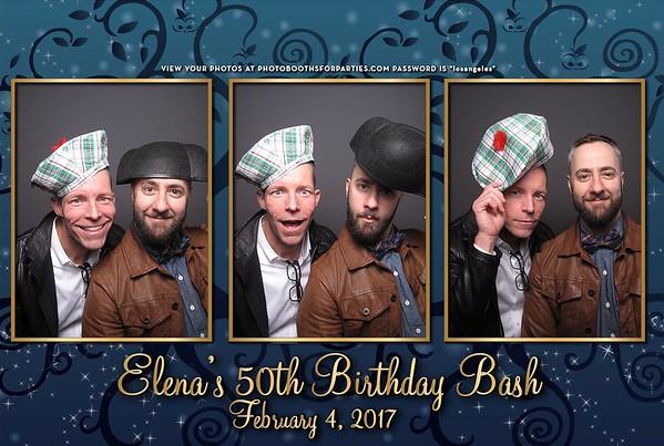 Elena's 50th Birthday Party