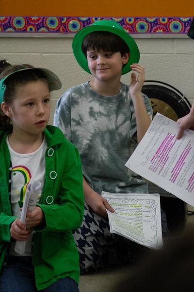 Mrs Nivert 3rd Grade St Patricks Day Play