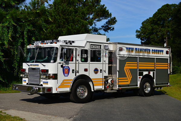 New Hanover County Fire and Rescue Apparatus