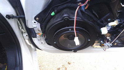 Mazda RX8 Front Speaker Installation - USA