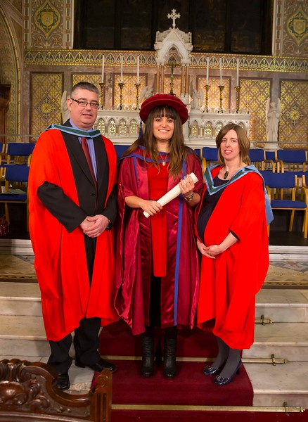 Waterford Institute Of Technology Conferring. Pictured at WIT Waterford Institute Of Technology Conferring is Maria Luz Prieto, Waterford who was conferred a Doctor of Philosophy. Picture: Patrick Browne