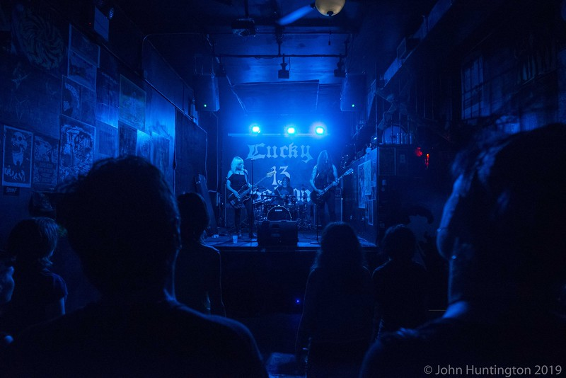 Sanhedrin at Lucky 13 Saloon, July 18, 2015