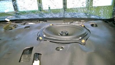 2002 Lexus IS300 Rear Deck Speaker Installation - Finland
