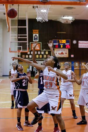 Girls Basketball Edison 1/8/13