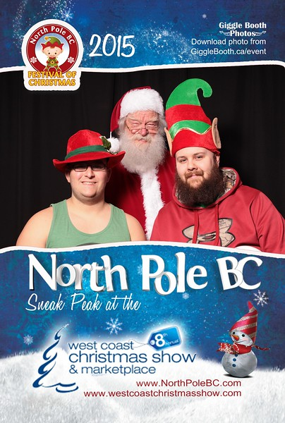 North Pole BC at The West Coast Christmas Show 2015