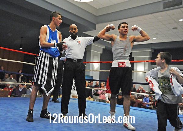 Bout 11=Main Event=Alejandro PoPo Salinas, SSBC, Ohio - vs- Namah Daghir, Canada
