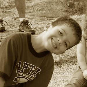 Jul 2007 - Camping at Enchanted Rock