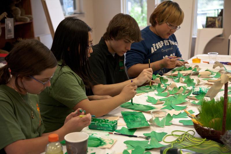 Rock the Green Revolution Work Day