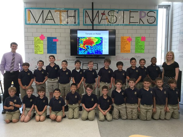 Meteorologist visits 3rd grade 4-5-17