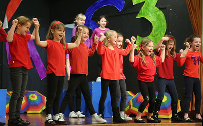 First Graders Perform The Play ONE