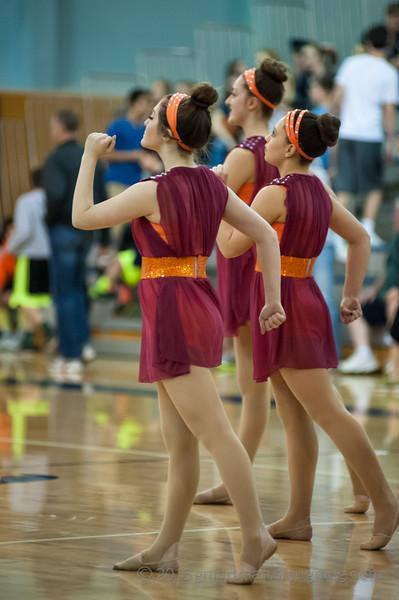 2015 Dance - Halftime Boys Basketball vs. Dallas State Playoffs