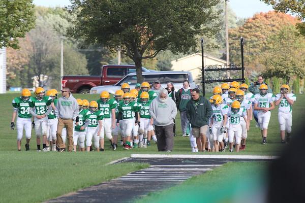 8th grade Grn & Wht game 10-11-18
