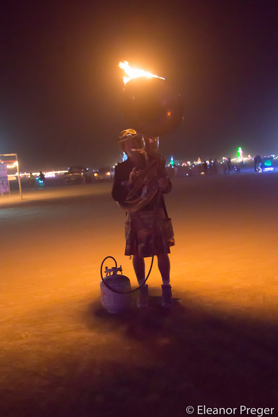 Flaming Tuba