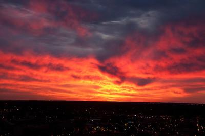 Sun Rise in the City