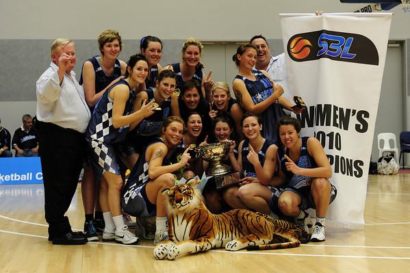 SBL Womens Grand Final - Willeton Tigers Win