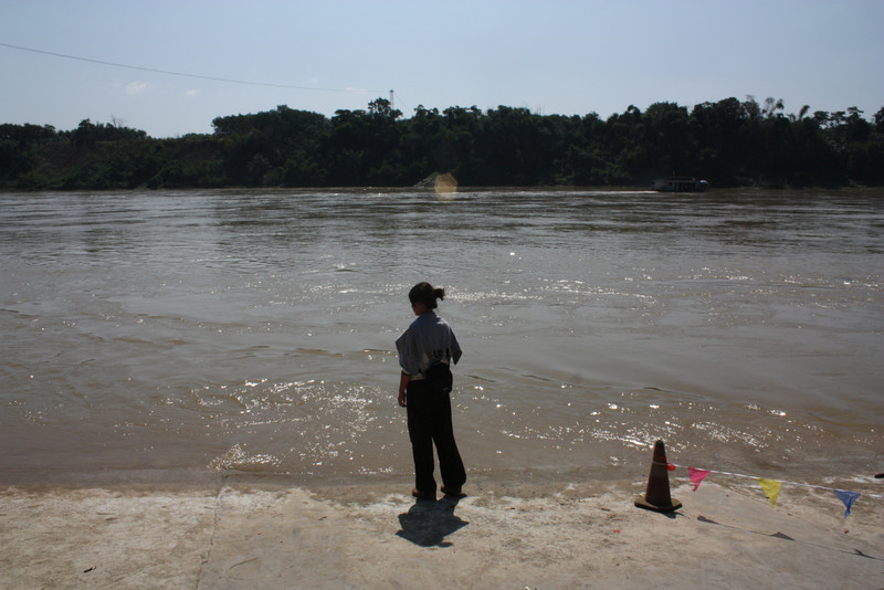 Ganlanba, looking at the Mekong