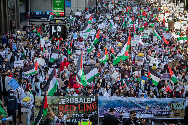 Rally in Support of Palestine - Chicago - May 12th, 2021