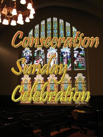 Consecration Sunday