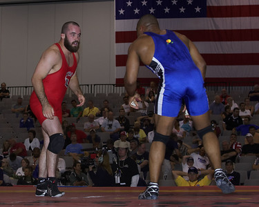 Men's Freestyle Championships 84 Kg Joe Williams Sunkist Kids def. Andy Hrovat (NYAC)